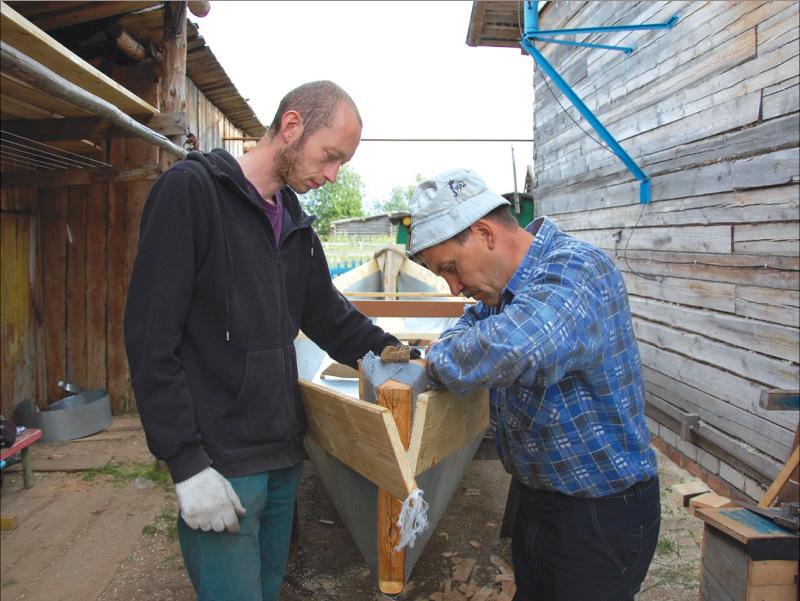 Тристан Хамел (Франция) и Владимир Емушев