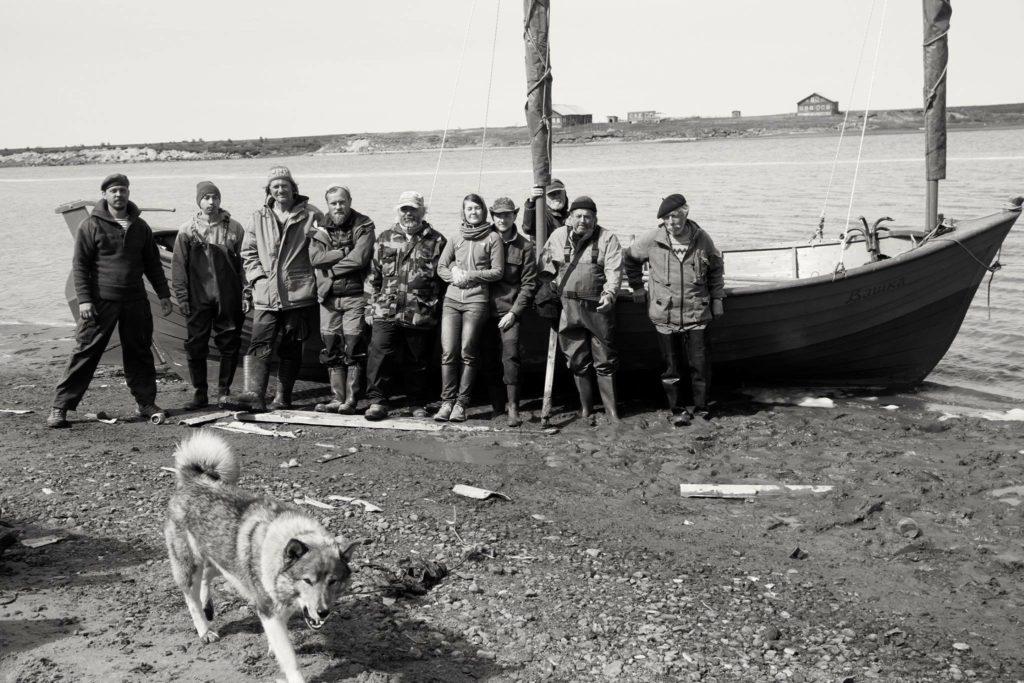 Морские практики на берегу Мезени