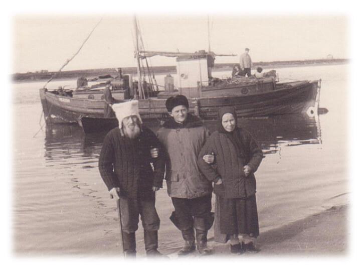 Фотография 1956 года, село Койда Архангельская область