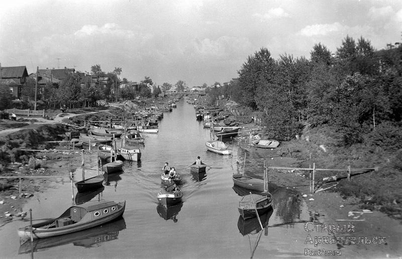 Соломбалка. Середина 60-х. Фото с сайта Старый Архангельск